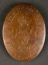 1796. The Attorney's Cavalry cross belt plate.
