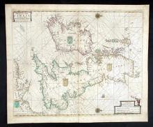 17th Century Sea Charts. (4)
