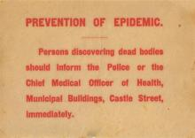 1916 Public Notices concerning the effects of the Rising (3)