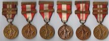 1939-1946 Emergency National Service, six different branches (6)