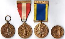 1939-1946 Emergency National Service (4 medals)