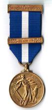 1939 - 1946 Emergency National Service Medal, Merchant Marine Service.