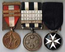 1939-1946 Emergency National Service and St John's Ambulance group of three.