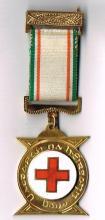 Irish Red Cross Gold President's Medal.