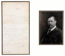 13th March 1890 Bram Stoker - creator of Dracula - autograph letter