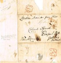 1830 (4th December) Daniel O'Connell Free Post letter