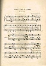 19th Century collection of sheet music for dances including The Kingstown Galop