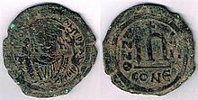 Mixed lot with Roman, Byzantine, Ireland, GB, and USA . (9)