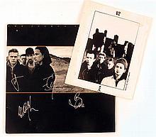 U2, Joshua Tree, signed (2)