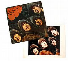 The Beatles, Rubber Soul, cover photograph
