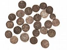 Ancient. Mixed lot of minor silver coins, mostly Roman.  (32)