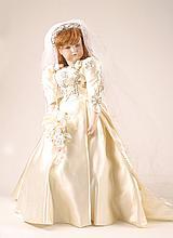 Lillian Middleton, Sarah Ferguson doll in bridal gown