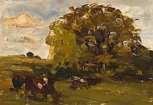 Nathaniel Hone RHA (1831-1917) OAK, ST. DOULOUGH'S, DUBLIN