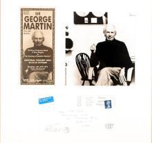 George Martin. Handwritten envelope.