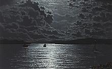 Ciarán Clear (1920-2000) NIGHT - ROARING WATER BAY, WEST CORK