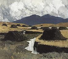 Paul Henry RHA (1876-1958) A KERRY BOG, 1934-1935