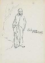 Jack Butler Yeats RHA (1871-1957) JOHNNIE FROM GORT