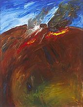 Seán McSweeney HRHA (b.1935) HILL FIRES, 1984