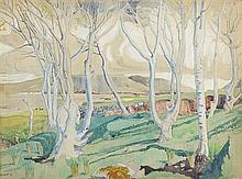 Harry Kernoff RHA (1900-1974) BEECH TREES, RENVYLE, CONNEMARA, 1933