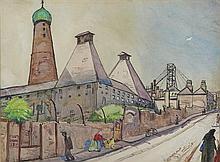 Harry Kernoff RHA (1900-1974) WATLING STREET, DUBLIN, 1933