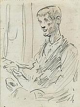 Jack Butler Yeats RHA (1871-1957) WEAVER AT LOOM