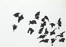 Louis le Brocquy HRHA (1916-2012) THE TÁIN. A FLOCK OF BIRDS, 1969
