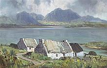 Rowland Hill ARUA (1915-1979) CONNEMARA LANDSCAPE