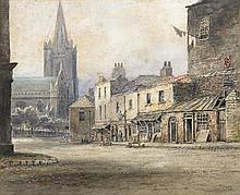 Alexander Williams RHA (1846-1930) OLD CANON STREET, ST PATRICK'S CLOSE, DUBLIN