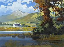 John Francis Skelton (b.1954) HOLY MOUNTAIN, SACRED SHADE [CROAGH PATRICK, COUNTY MAYO]