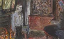 Jack Butler Yeats RHA (1871-1957) THE QUAY WORKER'S HOME, 1927
