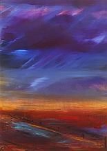 Patricia Cleland Clarke (b.1962) LANDSCAPE, GREYABBEY, COUNTY DOWN
