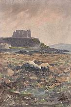 William Percy French (1854-1920) ON THE ROCKS [ROCK OF CASHEL, COUNTY TIPPERARY]