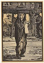 Jack Butler Yeats RHA (1871-1957) THE CAROL SINGER