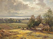 Frank McKelvey RHA RUA (1895-1974) LOUGH NEAGH, COUNTY ANTRIM