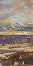 Mary Swanzy HRHA (1882-1978) LANDSCAPE