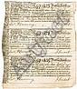 1751: Dublin Joint Hospital Scheme lottery tickets
