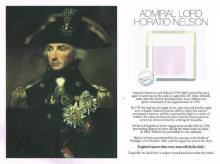 Admiral Lord Nelson, a strand of his hair.