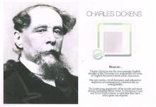 Charles Dickens, a strand of his hair.