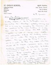 1910 (June 26) Letter from Padraig Pearse