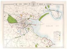 1925 The civic survey : Dublin and environs,