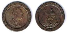 GB and Ireland mixed lot of copper coinage, William & Mary to George III.