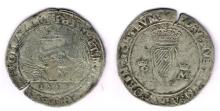 Philip & Mary shilling, 1555.