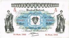 Northern Ireland. Small collection One Pound to Twenty Pounds, 1929-1990.
