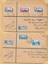 British Empire. Collection of George VI First Day Covers.