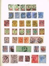 Great Britain. 1870 to 1940 mint and used collection.