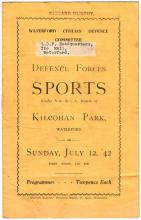 Athletics and Cycling, 1940s Waterford