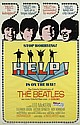 The Beatles: Help! American cinema poster 1965