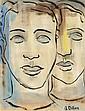 Gerard Dillon (1916-1971) FACES