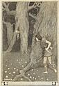 Paul Henry RHA (1876-1958) FIGURES IN THE WOODS, c.1903