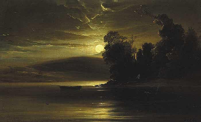 Patrick Vincent Duffy RHA (1836-1909) INISHFALLEN